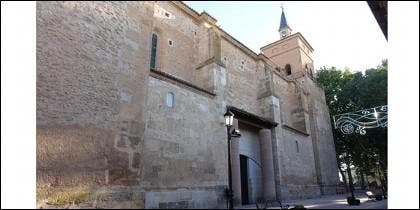 Iglesia inacabada de Argamasilla de Alba.