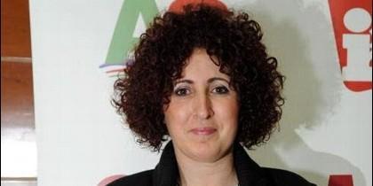 La alcaldesa del municipio murciano de Moratalla, Cándida Marín (IU).