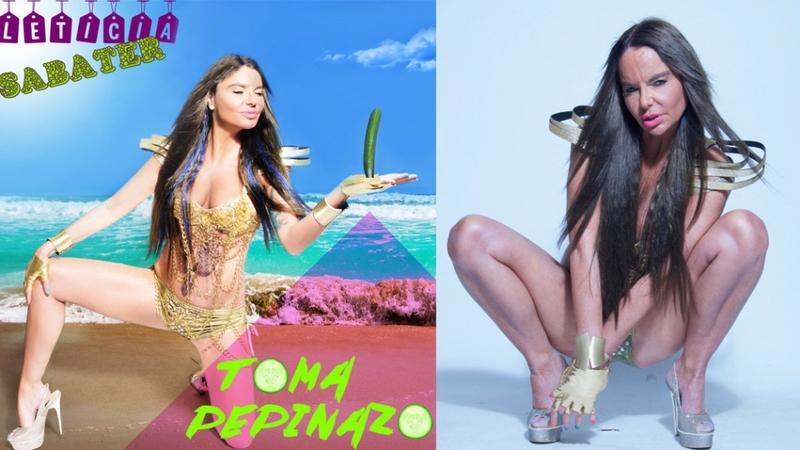 'Toma pepinazo': la nueva canción del verano de Leticia Sabater.