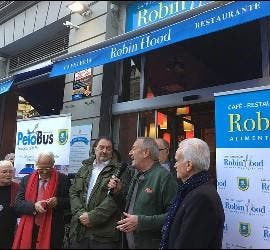 Inauguración del Robin Hood