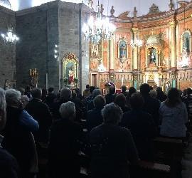 Misa de los vecinos de Friol en Quiroga