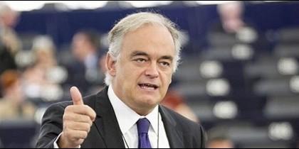El líder de los populares en el Parlamento Europeo, Esteban González Pons.