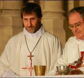 Óscar Ojea y Martín Fassi, obispos de San Isidro