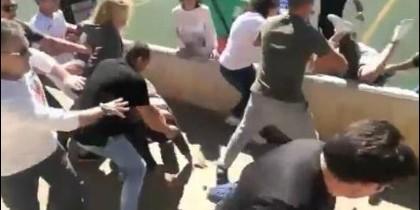 La pelea entre padres en un partido de fútbol en Mallorca