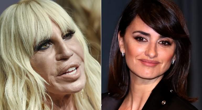 Penelope Cruz será Donatella Versace