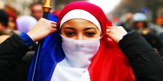 Musulmanes en Francia