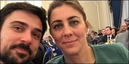 El 'selfie del Ritz' de Espinar y Ruiz-Huerta en el Hotel Ritz está dando mucho que hablar entre las bases de Podemos.