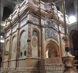 El Santo Sepulcro, remozado