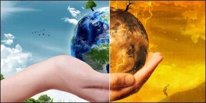 Planeta Tierra, clima y calentamiento global.