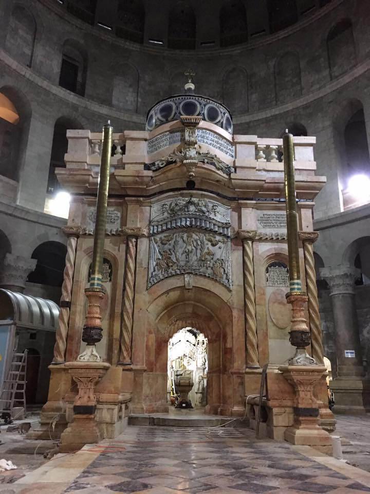 El Santo Sepulcro reabre sus puertas con un llamamiento al