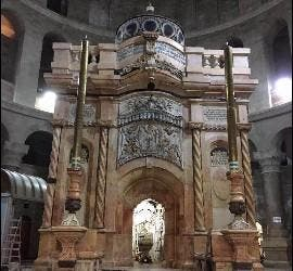El Santo Sepulcro, restaurado