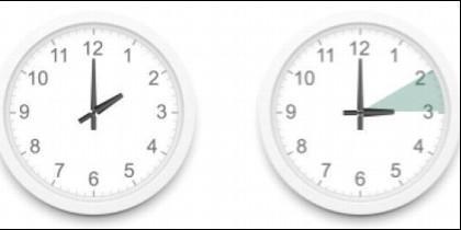 Adelantar el reloj una hora, para ajustarnos al horario de verano.
