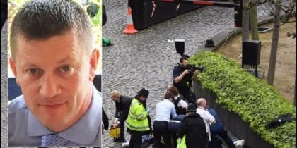 El policía Keith Palmer tenía 48 años y se enfrentó desarmado al terrorista.