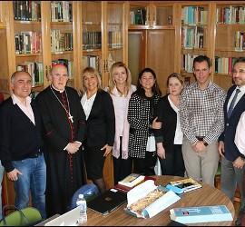 Visita del cardenal Osoro a la Delegación episcopal de Fundaciones