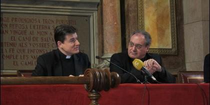 Remery y Gil Tamayo, hoy, en rueda de prensa