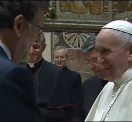 Francisco, con Mariano Rajoy