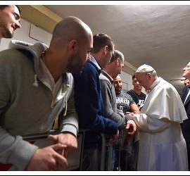 El Papa, con los reclusos