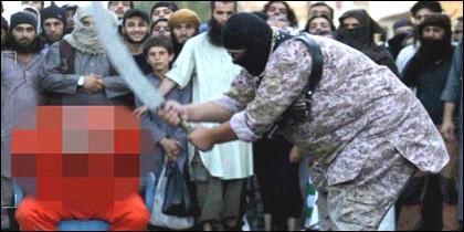 El verdugo gigante del ISIS