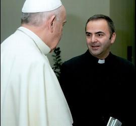 José San José, con el Papa Francisco