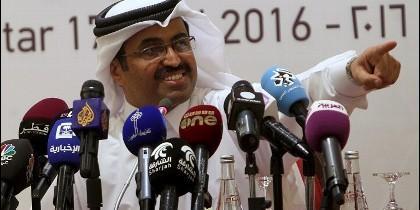 El presidente de la OPEP Mohammed Saleh al Sada.