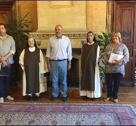 Ensenyat con monjas jerónimas de Mallorca