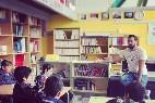 El rapero Valtonyc y su clase en el instituto