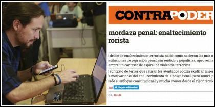 Pablo Iglesias y el artículo copiado del diario de Escolar.