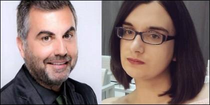 Carlos Alsina y Cassandra Vera.