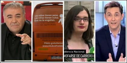 Ferreras, el bus de Hazte Oír, Cassandra y Ruiz.