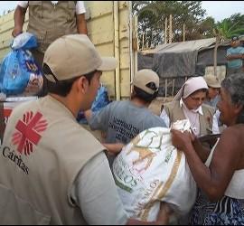 Cáritas se moviliza en Mocoa