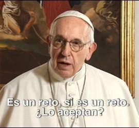 El Papa dedica su vídeo de abril a los jóvenes