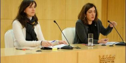 Ana Varela y Celia Mayer.
