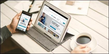 Portal web CaixaBank