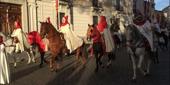 Pregón de las Siete Palabras, uno de los actos singulares de la Semana Santa de Valladolid