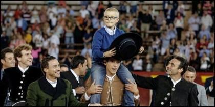Adrián Hinojosa, el niño con cáncer que soñaba con ser torero.