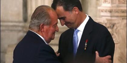 Don Juan Carlos y Felipe
