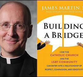 James Martin sj y la portada de su nuevo libro