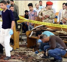 Explosiones en iglesias coptas de Egipto
