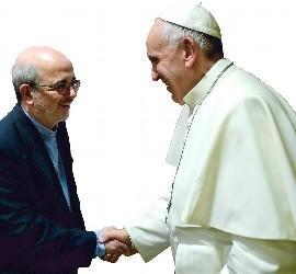 Audiencia del Papa con el hermano Emili Turú