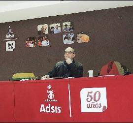 José Luis Pérez, en los 50 años de Adsis
