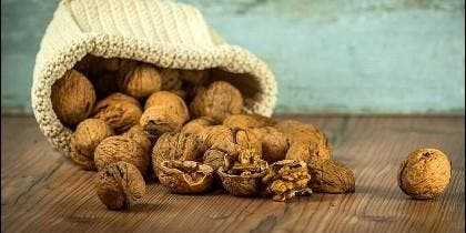 Nueces y frutos secos.