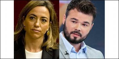 Came Chacón y Gabriel Rufián.