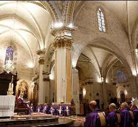Oración por la paz en Valencia