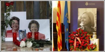 Funerales de Rita Barberá y Carmen Chacón.