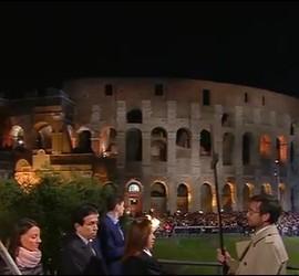 El Coliseo, este Via Crucis