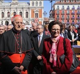 Nuria Calduch con Blázquez