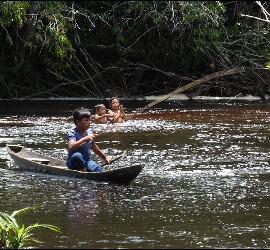 La Amazonía, con los ojos de Modino