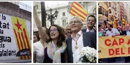 Mónica Oltra y Joan Ribó, cómplices de la infiltración catalanista en Valencia.