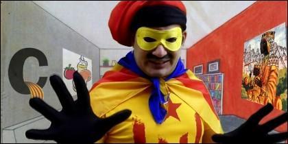 El independentista Supercat: 'Cataluña mola, España no'.