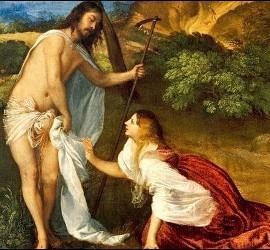 Magdalena y el resucitado